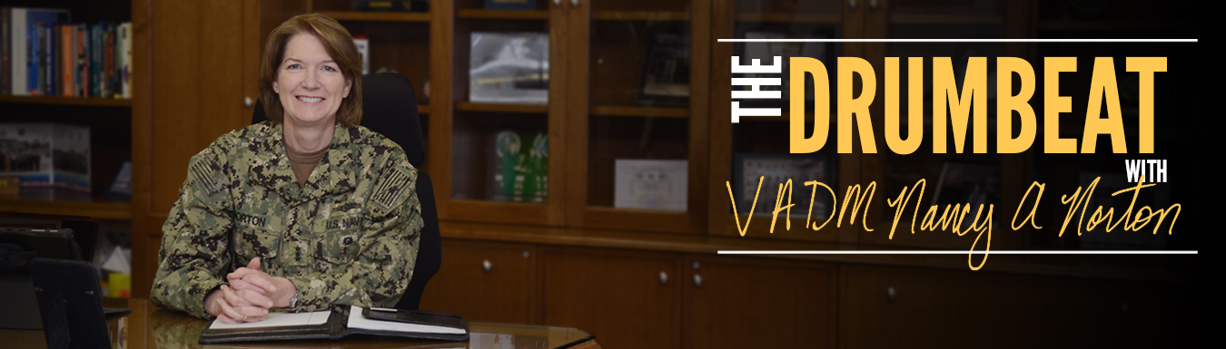 The Drumbeat with VADM Nancy A. Norton